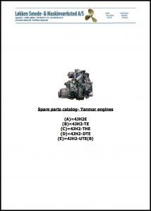 cover of Yanmar 4JH2 Series Parts Catalog