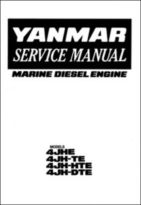Yanmar 4JH5E Marine diesel Engine Service Manual
