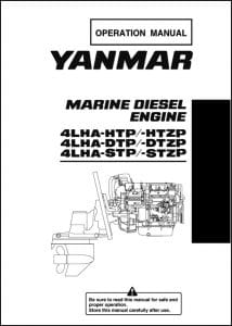 Yanmar 4LHA-HTP diesel engine Operation Manual