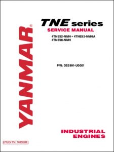 Yanmar 4THE92 Diesel Engine Service Manual