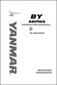Yanmar Diesel Engine 6BY2 220 Operation Manual