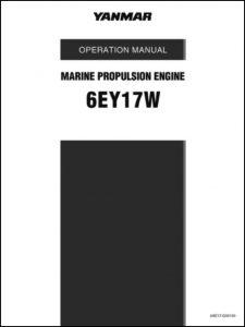 Yanmar 6EY17W Marine Diesel Engine Operator Manual