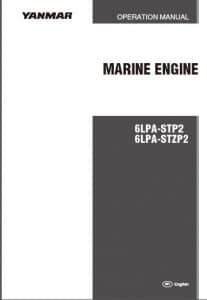 Yanmar Diesel Engine 6LPA-STP-2 Operation Manual