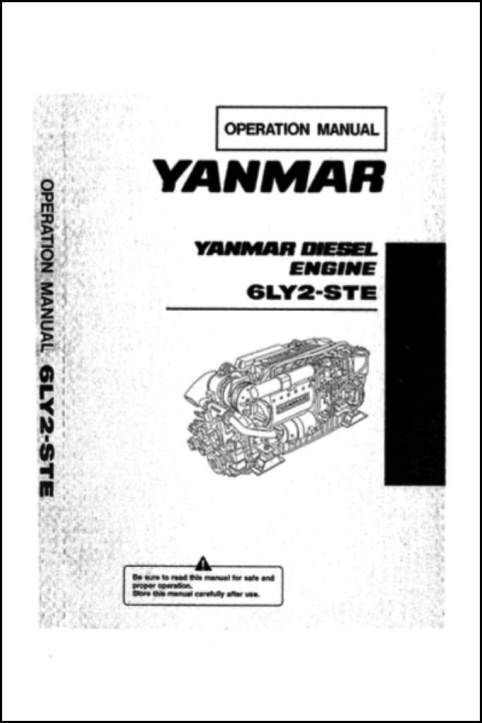 yanmar 6ly2 ste marine diesel engine operation manual marine rh marinedieselbasics com