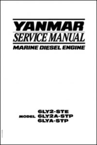 Yanmar 6LY2-STE Marine Diesel Engine Service Manual