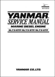 Yanmar 6LY3-ETP Marine Diesel Engine Service Manual