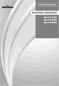 Yanmar 6LY3-STP Marine Diesel Engine Operation Manual