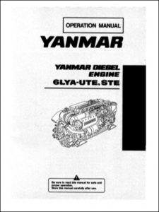 Yanmar 6LYA-UTE Marine Diesel Engine Operation Manual