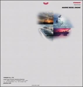Yanmar Diesel Engines Catalog 2016