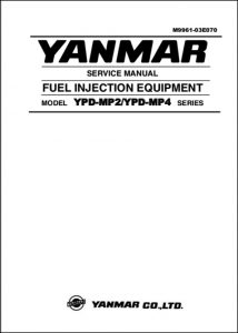 Yanmar Fuel Injection Pump YPD-MP2 Service Manual