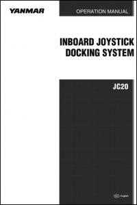 Yanmar Joystick Control JC20 Operation Manual
