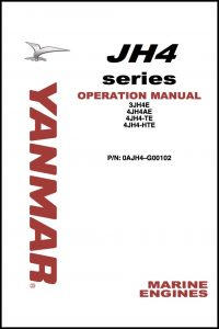 cover of Yanmar JH4 Operations Manual 2006