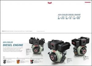 Yanmar L Series diesel engines Brochure & Technical Information