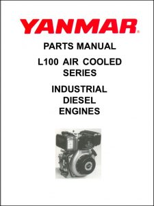 Yanmar L100 diesel engine Parts Catalog