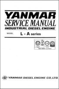 Yanmar L40AE diesel engine Service Manual