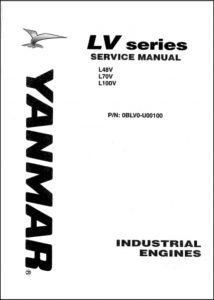 Yanmar L48V diesel engine service manual