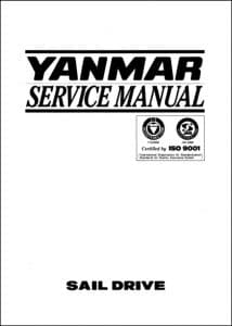 Yanmar Saildrive SD20 Service Manual