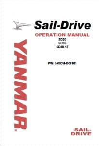 Yanmar Sail Drive SD20 etc. Operation Manual 2009
