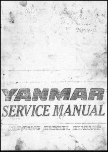cover of Yanmar YSE8 Service Manual