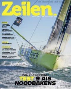 Zeilen sailing magazine cover