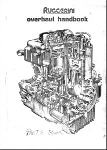 cover Ruggerini RD 901:2 Overhaul:Spare Parts Catalog