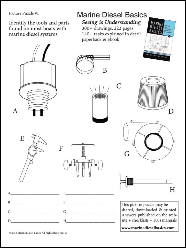 Marine Diesel Basics Picture Puzzle #3