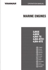 Yanmar Diesel Engine 3JH5E Operation Manual