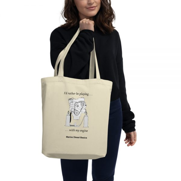 Tote bags for sailors from Marine Diesel Basics
